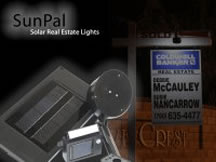 SunPal Solar Real Estate Sign Lights